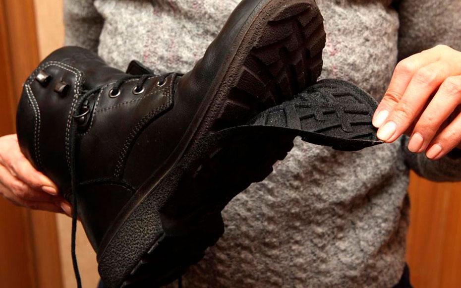 Обувь ненадлежащего качества