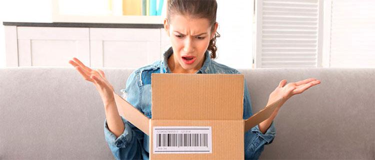 интернет-магазин не возвращает деньги за товар - фиксация поломки